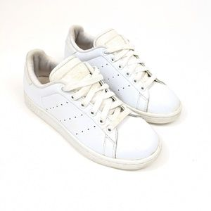 Adidas Stan Smith all white sneakers